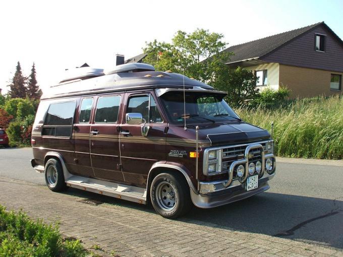 Gmc Vandura Chevrolet Chevy Van G20 Gebraucht Wohnwagen Com